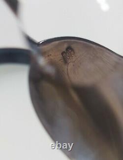 12 Petites Cuillères Argent Massif Minerve 19ème -12 Sterling Silver Spoons 19th