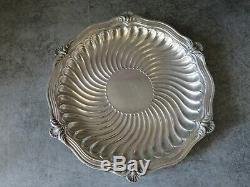 3 Dessous De Bouteille Argent Massif Minerve Bointaburet Paris Silver XIX
