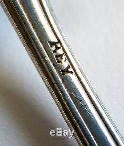 5 cuillères à soupe argent massif Minerve Orfèvre HENIN 19e 250 gr silver spoon