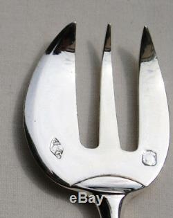 6 FOURCHETTES A HUITRE EN ARGENT MASSIF Sterling Silver Oyster Forks