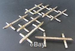 8 Porte Couteaux En Argent Massif Solid Sterling Silver Rest Knives