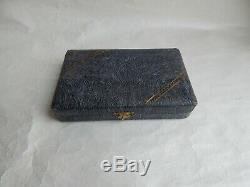 Ancien Nécessaire de Couture, Broderie Etui porte aiguille, Sewing Set Silver N°1