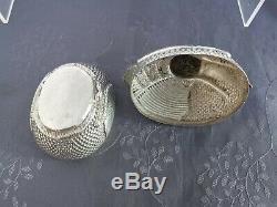 Argent Massif Boite Zoomorphe Thailande Chine Du Sud Chinese Silver Box