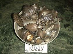 Argent Massif + de 1900 Gr Minerve 1er Titre & arg 800 Solid Silver Casse Fonte