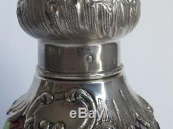 Baccarat Saupoudreuse Argent Massif Solid Silver Sprinkler Shaker Sugar