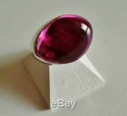 Bague Argent Massif cristal 51 Galea BACCARAT Sterling Silver Crystal Ring