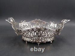 Belle Coupe Ovale En Argent Massif Style 18 Eme Louis XVI Pays-bas Dutch Silver