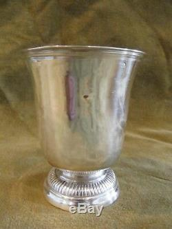 Belle Timbale tulipe argent XVIIIème Orleans 1774 (french silver 950 goblet)