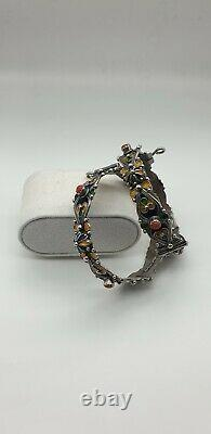 Bijoux Kabyle (Jewelry Kabyle North Afrique)Silver And Coral