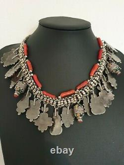 Bijoux Kabyle (Jewelry Kabyle North Afrique) Silver And Coral