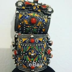 Bijoux Kabyle (Jewelry Kabyle North Afrique) Silver Coral