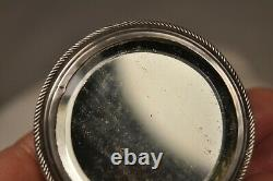 Boite A Mouches Ancienne Argent Massif Antique Solid Silver Patch Box