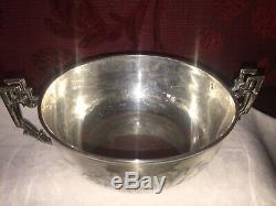 Bouillon Argent XIXème-19th C. Silver Covered Bowl