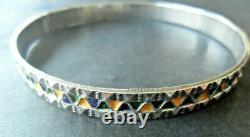 Bracelet Bijou Kabyle Argent Massif Corail Berbere Amazigh Ethnic Silver Jewel