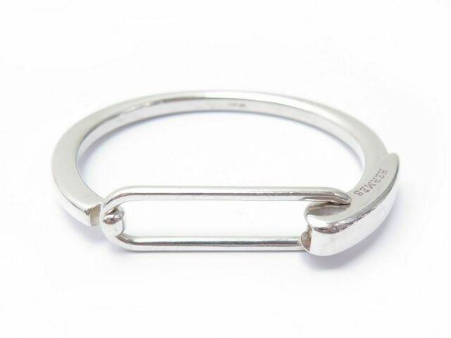 Bracelet Hermes Clic 15 Cm En Argent Massif + Boite Starling Silver Jewel 840