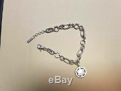 Bracelet MONT BLANC étoile argent massif / sterling silver bracelet star