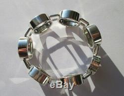 Bracelet collector CHRISTOFLE Argent massif 925 40g French sterling silver