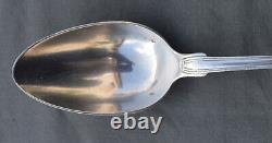 CUILLERE DE SERVICE RAGOUT EN ARGENT MASSIF MINERVE silver spoon DECOR COQUILLE