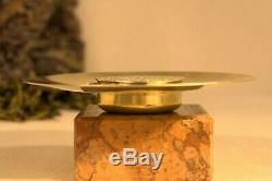 CUSTODE en ARGENT MASSIF or vermeil gold solid silver pyx AGNUS DEI