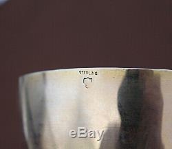 Calice Anglais British silver argent massif vermeil XIXe Siècle