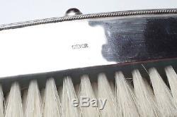 Chine brosse en argent et pierres semi-précieuses Chinese silver brush