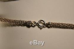 Collier Argent Massif Filigrane Bijou Regional Antique Silver Filigree Necklace