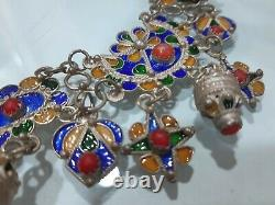 Collier Kabyle Berbere Argent Massif Afric Ethic Silver Jewel Pendent