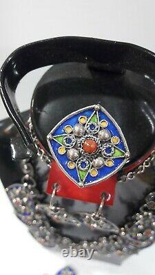 Collier berber bracelet bague boucles oreille argent kabyle bijou Silver jewel