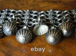 Collier et Bracelet en Argent Massif Silber Silver