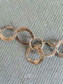 + Collier sautoir ancien Tunisie berbère argent massif necklace silver ethnique