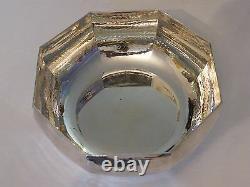Coupe à Caviar martelée en Argent Massif Silver Silber