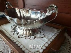 Coupe a Fruits, Solid silver, Italie, Argent Massif