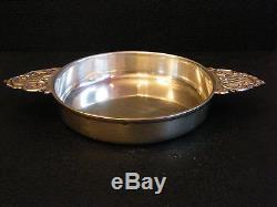 Coupe à Oreilles en Argent Massif Silver Silber Louis XV