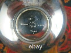 Coupe bol Georg Jensen Sterling Silver Bowl argent massif Piet Hein denmark