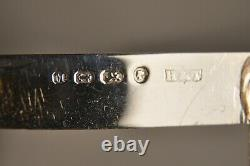Couteau De Poche Ancien Argent Massif Antique Mother Of Pearl Solid Silver Knife
