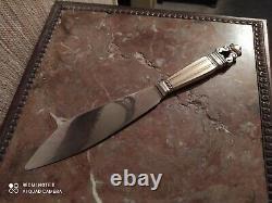 Couteau/Pelle à Dessert Argent Sterling Silver Georg Jensen 1866-1935