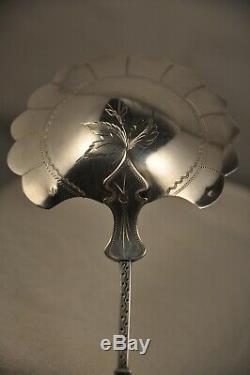 Couvert Service Ancien Argent Massif Minerve A La Russe 132g Solid Silver Spoons