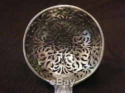 Cuillère à Saupoudrer XVIII ème siècle Argent Massif Paris 1775 1781 Silver