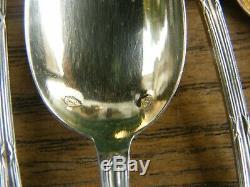 Cuillères à Moka Argent Massif Louis XVI Silver Silber Cuillerons Vermeil