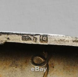 ETUI A CIGARETTES ARGENT MASSIF VERMEIL LOUIS XV Sterling Silver Cigarette Case