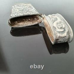 Etui en Argent XVIIIè Louis XV Rocaille French 1700´s Sterling Silver Case