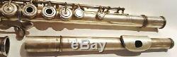 Flûte Louis Lot 8060 Argent massif Solid silver flûte Louis LOT 8060