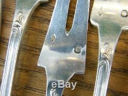 Fourchettes à Escargot en Argent Massif Louis XV Silver Silber