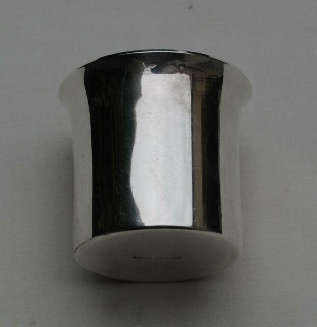 Hermes Paris Petite Timbale En Argent Massif Uni Sterling Silver Cup