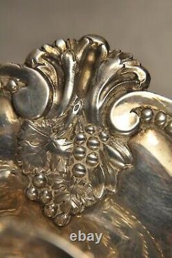 Huilier-vinaigrier Ancien Argent Massif XVIII Antique Solid Silver Oil Vinegar S