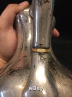 Imperial Russian Silver 84 Tea Pot Théière Argent Russe 1861 Vermeil