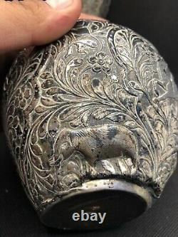 Imperial Russian Silver Carafe Pichet Argent Russe 1896 84 Kokoshnik