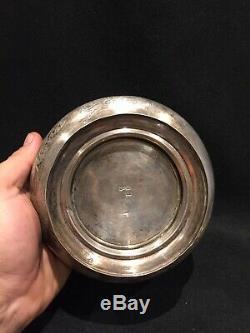 Imperial Russian Silver Sugar Bowl Sucrier Sergey Agafonov Argent Russe 1894