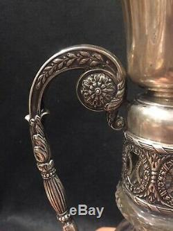 Imperial Russian Silver Vase Ivan Petrovich Khlebnikov Argent Russe 84 Cristal