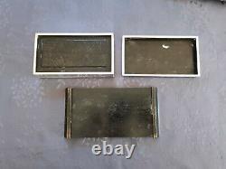 Japanese Meiji Silver Box Boite Argent Massif XIX Du Japon